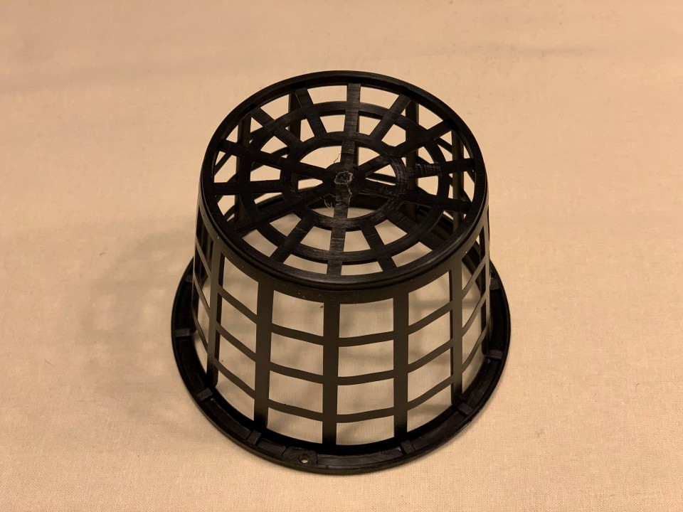 Square hole basket 100mm x 75mm