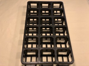 80mm Square Tray - 18 Hole