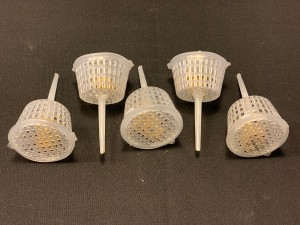 Clear Fertiliser Baskets - pkt 5